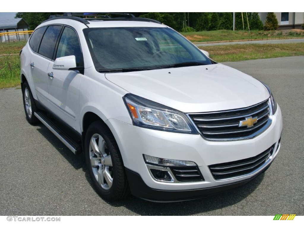 2016 iridescent pearl tricoat chevrolet traverse ltz 105779612 photo 7 car for Chevy traverse interior colors