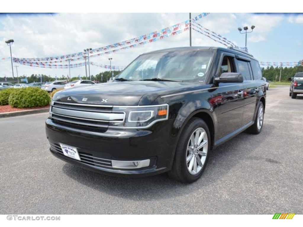 2014 tuxedo black ford flex limited awd 105779583 photo. Black Bedroom Furniture Sets. Home Design Ideas