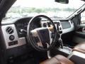 Platinum Unique Pecan Leather 2013 Ford F150 Interiors