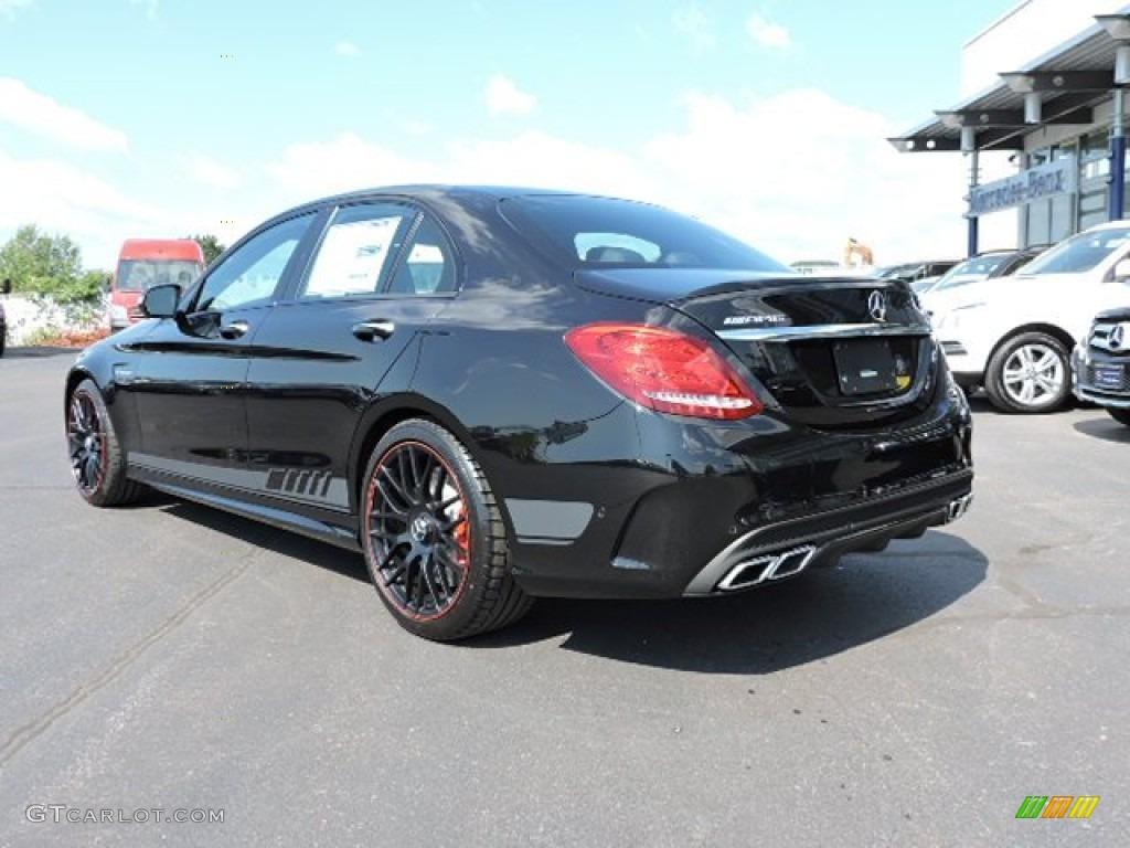 2015 obsidian black metallic mercedes benz c 63 amg coupe for Mercedes benz color