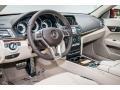 Silk Beige/Espresso Brown Prime Interior Photo for 2016 Mercedes-Benz E #105816264