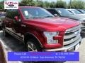 Ruby Red Metallic - F150 King Ranch SuperCrew 4x4 Photo No. 1