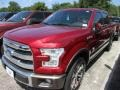 Ruby Red Metallic - F150 King Ranch SuperCrew 4x4 Photo No. 2