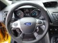 Charcoal Black Steering Wheel Photo for 2016 Ford Escape #105826063