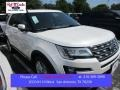 White Platinum Metallic Tri-Coat 2016 Ford Explorer Limited