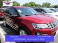 Ruby Red Metallic Tri-Coat 2016 Ford Explorer XLT