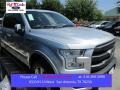 Ingot Silver Metallic 2015 Ford F150 Lariat SuperCrew 4x4