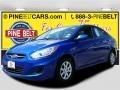 Marathon Blue 2013 Hyundai Accent GLS 4 Door