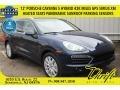Dark Blue Metallic 2012 Porsche Cayenne S Hybrid
