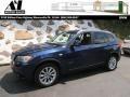 Deep Sea Blue Metallic 2013 BMW X3 xDrive 28i