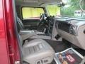Red Metallic - H2 SUV Photo No. 15