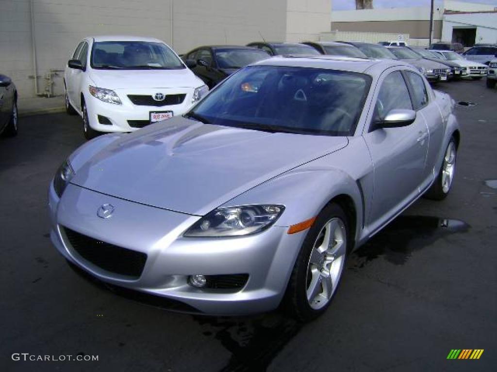 2004 sunlight silver metallic mazda rx 8 sport 1055691 car color galleries. Black Bedroom Furniture Sets. Home Design Ideas