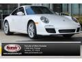 Carrara White 2009 Porsche 911 Carrera Coupe