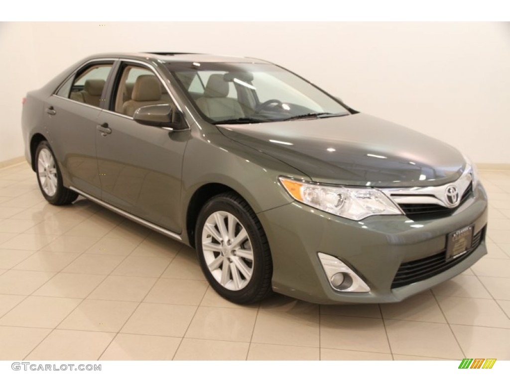 2012 cypress green pearl toyota camry xle v6 105927304 car color galleries. Black Bedroom Furniture Sets. Home Design Ideas
