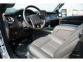 2016 Ford F250 Super Duty Platinum Black Interior Prime Interior Photo