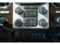 2016 Ford F250 Super Duty Platinum Black Interior Controls Photo