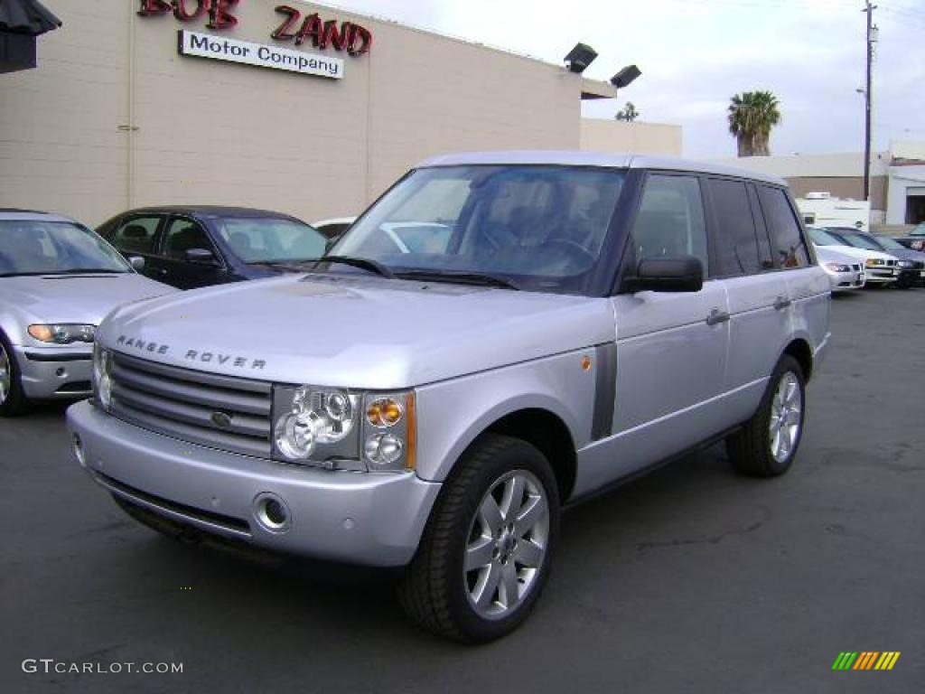 2005 Range Rover HSE - Zambezi Silver Metallic / Charcoal/Jet photo #1