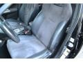 Carbon Black/Graphite Gray Alcantara Front Seat Photo for 2008 Subaru Impreza #105958563