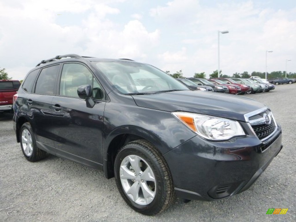 2015 Dark Gray Metallic Subaru Forester 2 5i Premium