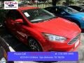 2015 Race Red Ford Focus SE Sedan  photo #1