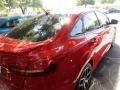 2015 Race Red Ford Focus SE Sedan  photo #4