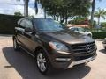 Front 3/4 View of 2013 ML 350 4Matic
