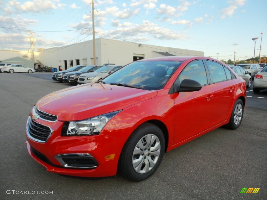 Red Hot Chevrolet Cruze Limited