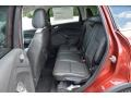 Charcoal Black Rear Seat Photo for 2016 Ford Escape #106010978