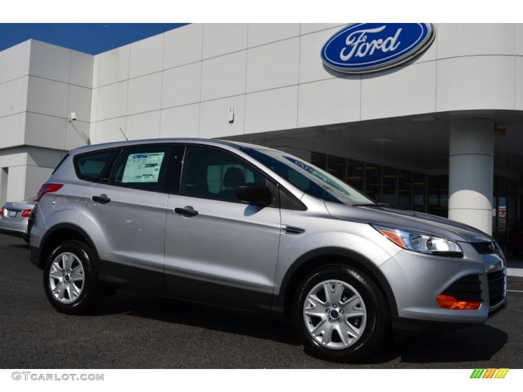 Ingot Silver Metallic Ford Escape