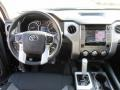 2015 Toyota Tundra Black Interior Dashboard Photo