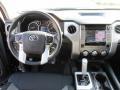 2015 Toyota Tundra Black Interior Dashboard Photo