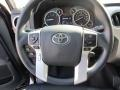 2015 Toyota Tundra Black Interior Steering Wheel Photo
