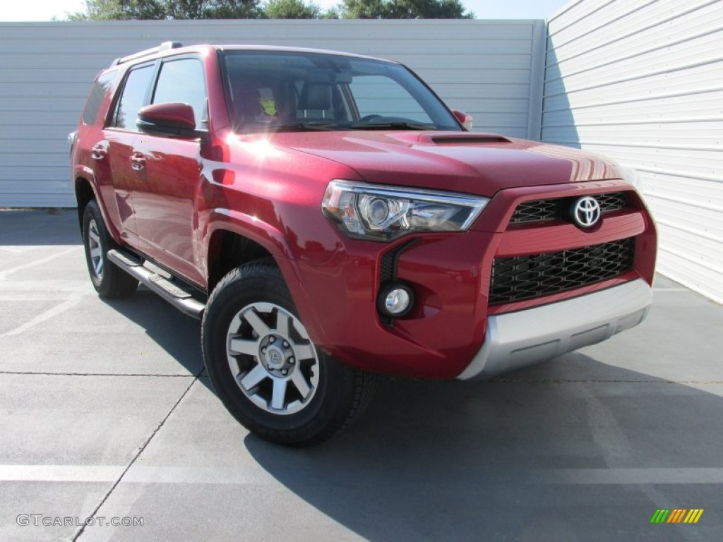 2015 barcelona red metallic toyota 4runner trail premium 4x4 106050056 car. Black Bedroom Furniture Sets. Home Design Ideas