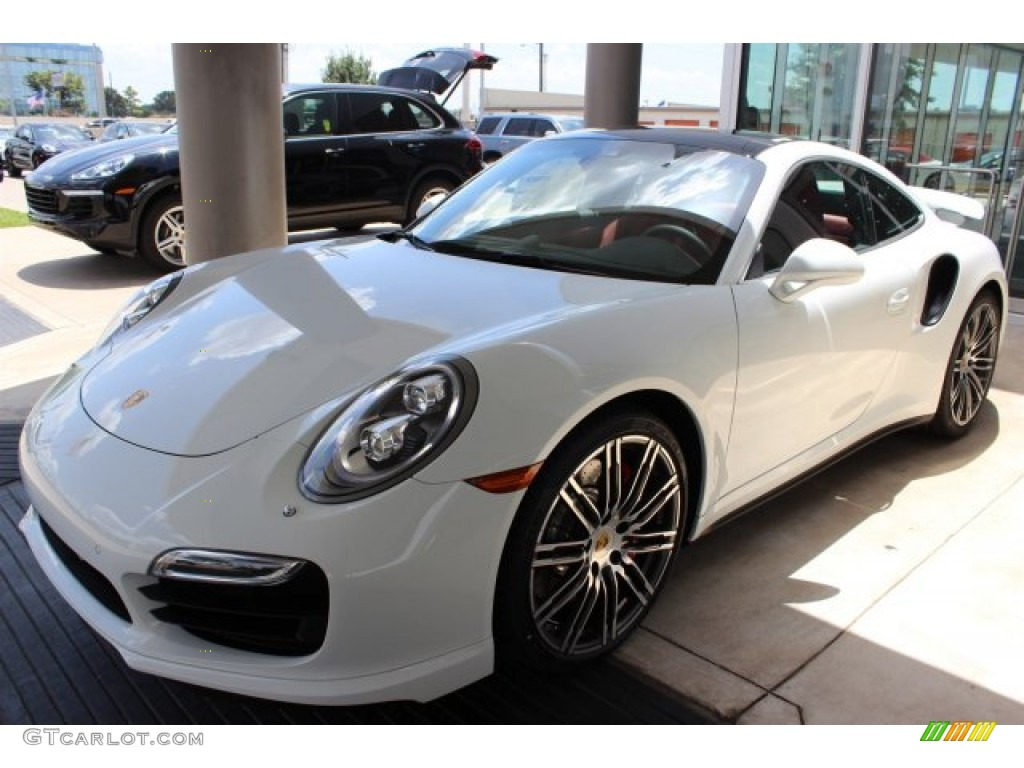 White 2016 Porsche 911 Turbo S Coupe Exterior Photo