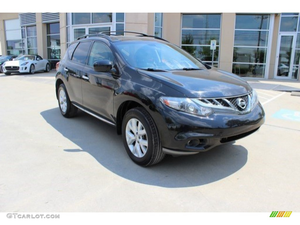 2011 Murano SL - Super Black / Black photo #1