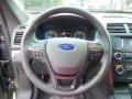 Ebony Black Steering Wheel Photo for 2016 Ford Explorer #106094242