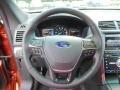 Ebony Black Steering Wheel Photo for 2016 Ford Explorer #106094695