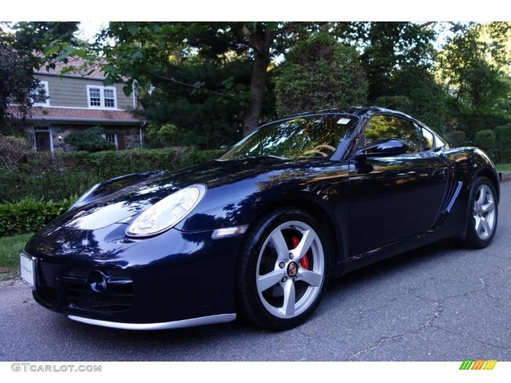 2006 lapis blue metallic porsche cayman s 106071526 car color galleries. Black Bedroom Furniture Sets. Home Design Ideas