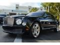 Diamond Black Metallic 2011 Bentley Mulsanne Sedan