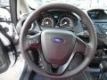 Charcoal Black Steering Wheel Photo for 2015 Ford Fiesta #106151554