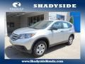 2012 Alabaster Silver Metallic Honda CR-V LX 4WD  photo #1