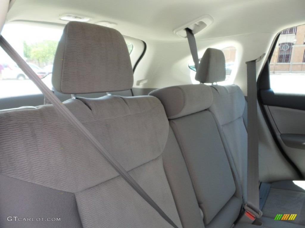 2012 CR-V LX 4WD - Alabaster Silver Metallic / Gray photo #13