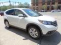 2013 White Diamond Pearl Honda CR-V EX AWD  photo #3