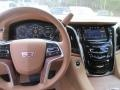 2015 Cadillac Escalade Tuscan Brown Interior Dashboard Photo