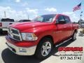 2012 Flame Red Dodge Ram 1500 Outdoorsman Crew Cab 4x4 #106176498