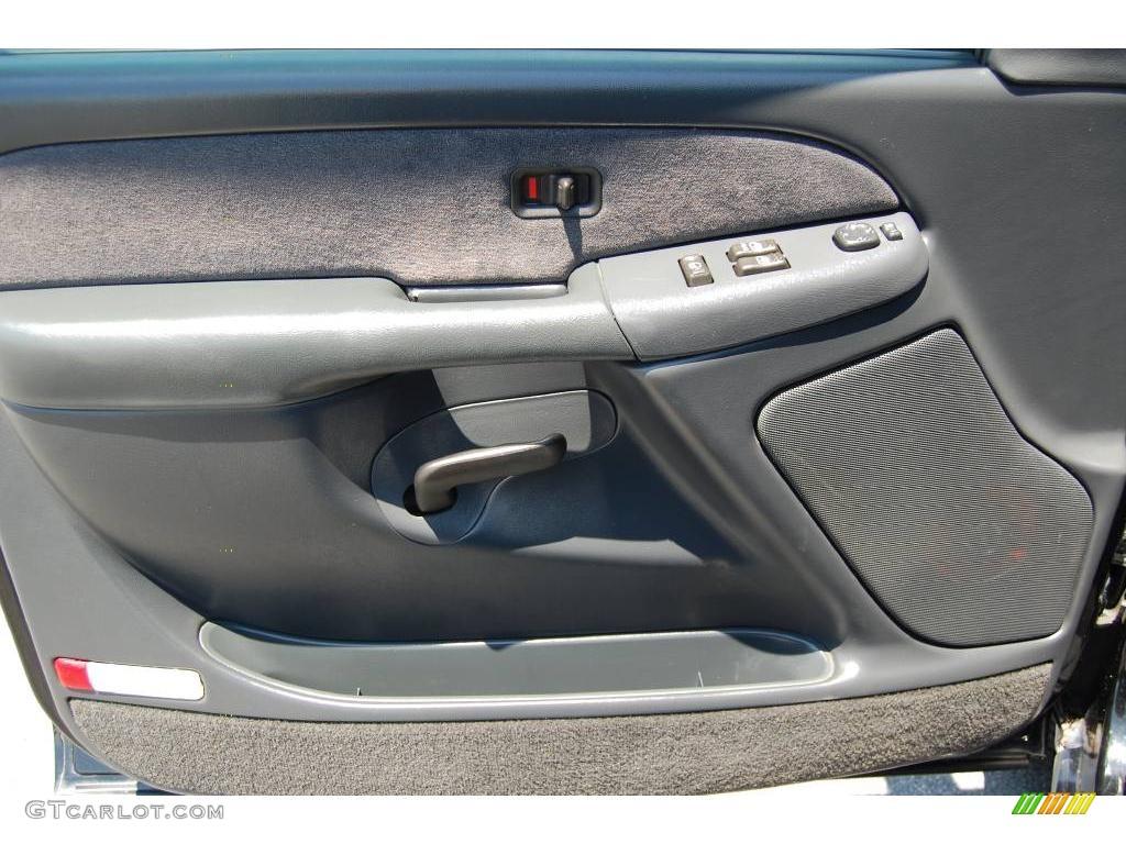 2002 Silverado 1500 LS Regular Cab 4x4 - Onyx Black / Graphite Gray photo #14
