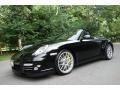 Black 2011 Porsche 911 Turbo S Cabriolet