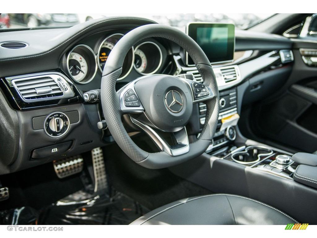 Black Interior 2016 Mercedes Benz Cls 400 Coupe Photo 106228288