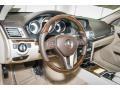 Silk Beige/Espresso Brown Dashboard Photo for 2016 Mercedes-Benz E #106232539