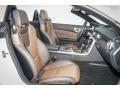 2016 SLK 350 Roadster Two-Tone Brown/Black Interior